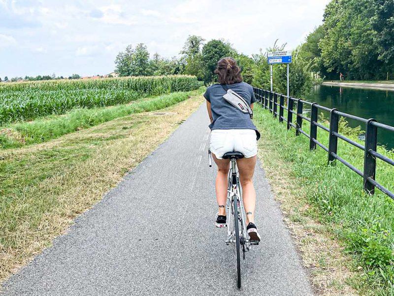 In bici sulla Martesana